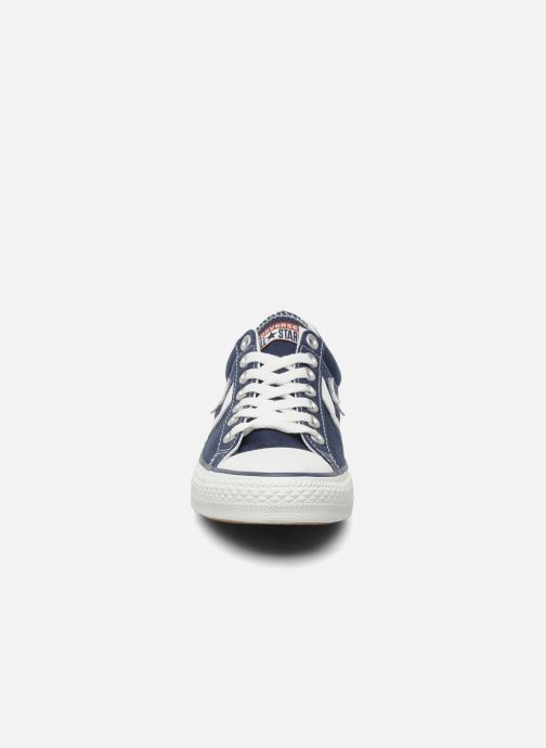 Baskets Converse Star Player Ev Canvas Ox M Bleu vue portées chaussures