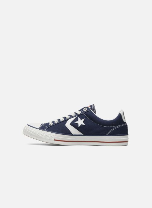 Baskets Converse Star Player Ev Canvas Ox M Bleu vue face