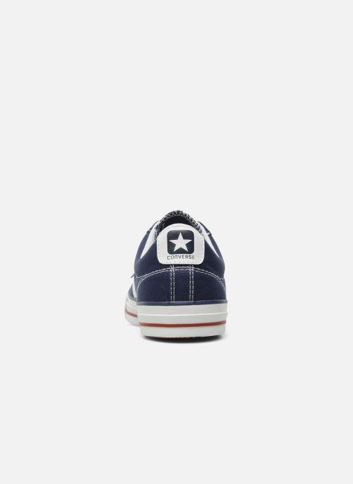 Sneaker Converse Star Player Ev Canvas Ox M blau ansicht von rechts