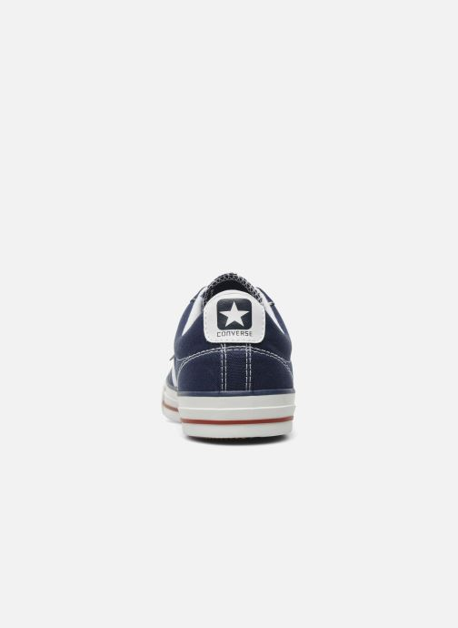 Baskets Converse Star Player Ev Canvas Ox M Bleu vue droite