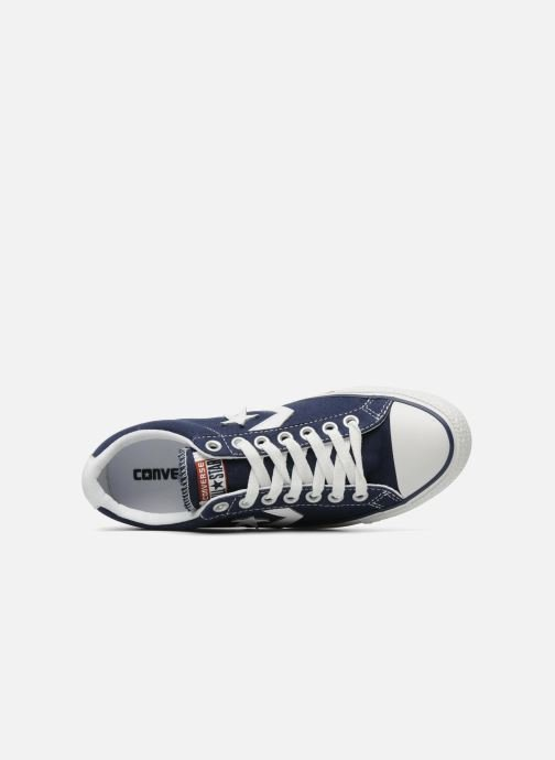 Trainers Converse Star Player Ev Canvas Ox M Blue view from the left