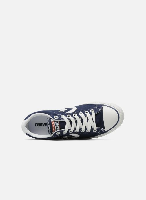 Baskets Converse Star Player Ev Canvas Ox M Bleu vue gauche