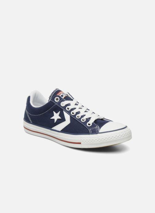 Sneakers Converse Star Player Ev Canvas Ox M Blå detaljeret billede af skoene