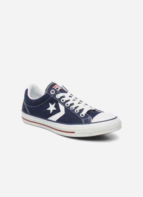 Baskets Converse Star Player Ev Canvas Ox M Bleu vue détail/paire