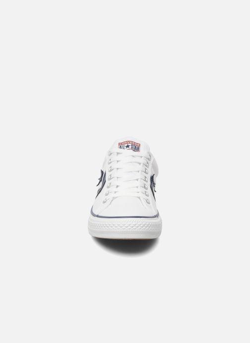 Sneaker Converse Star Player Ev Canvas Ox M weiß schuhe getragen