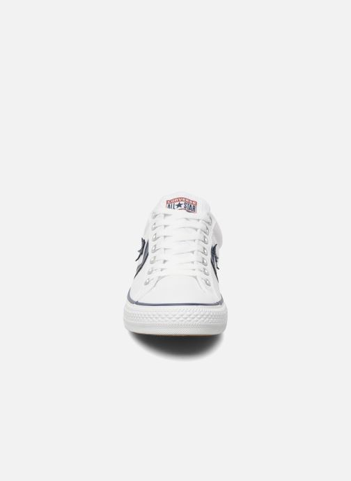 Deportivas Converse Star Player Ev Canvas Ox M Blanco vista del modelo