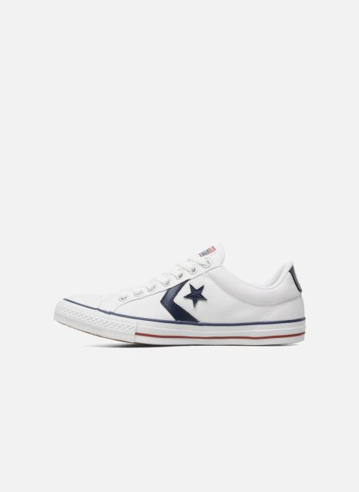 Deportivas Converse Star Player Ev Canvas Ox M Blanco vista de frente
