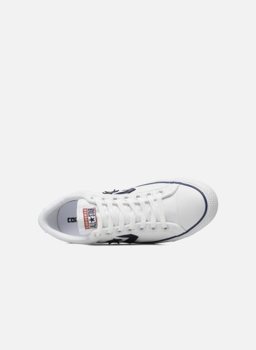 Deportivas Converse Star Player Ev Canvas Ox M Blanco vista lateral izquierda
