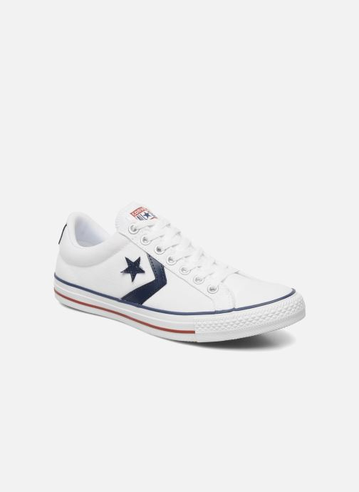 Deportivas Converse Star Player Ev Canvas Ox M Blanco vista de detalle / par