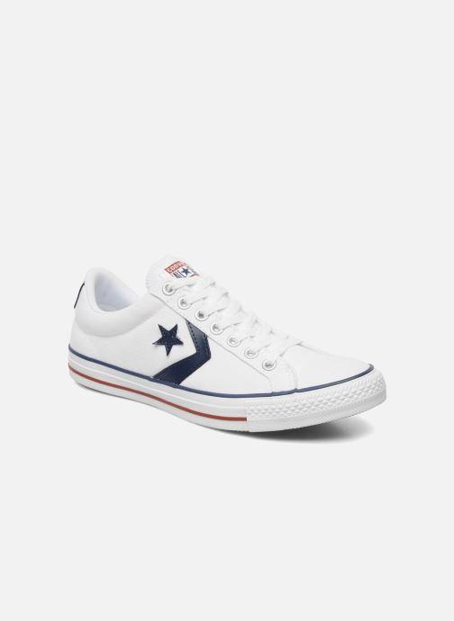 Sneakers Converse Star Player Ev Canvas Ox M Hvid detaljeret billede af skoene