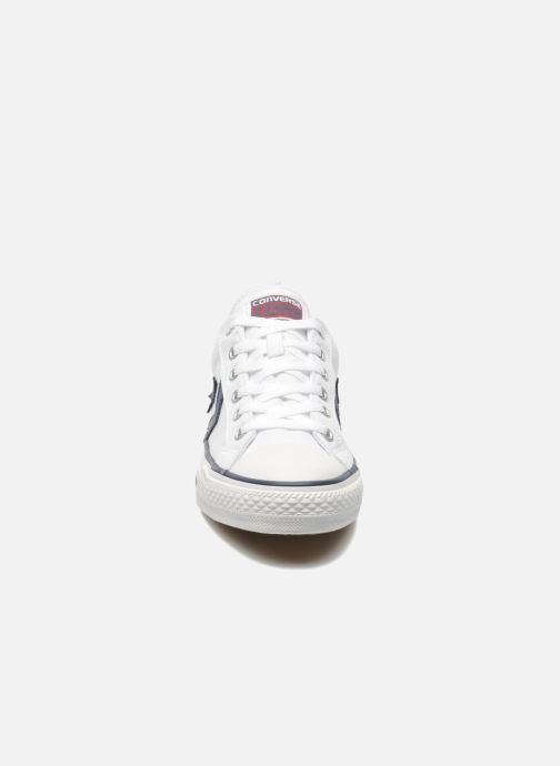 Baskets Converse Star Player Ev Canvas Ox M Blanc vue portées chaussures
