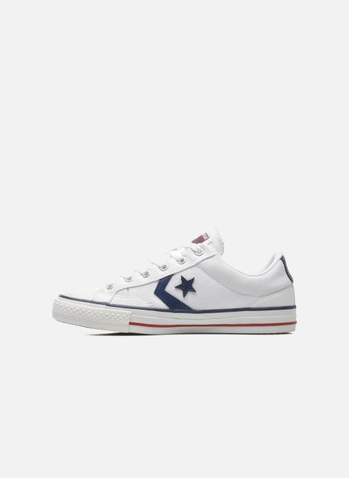 Baskets Converse Star Player Ev Canvas Ox M Blanc vue face