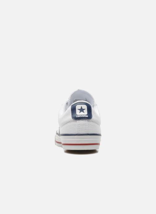 Baskets Converse Star Player Ev Canvas Ox M Blanc vue droite