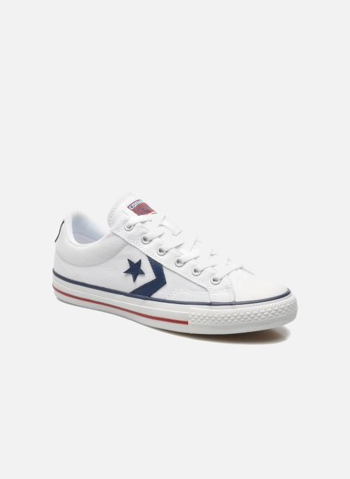 Baskets Converse Star Player Ev Canvas Ox M Blanc vue détail/paire