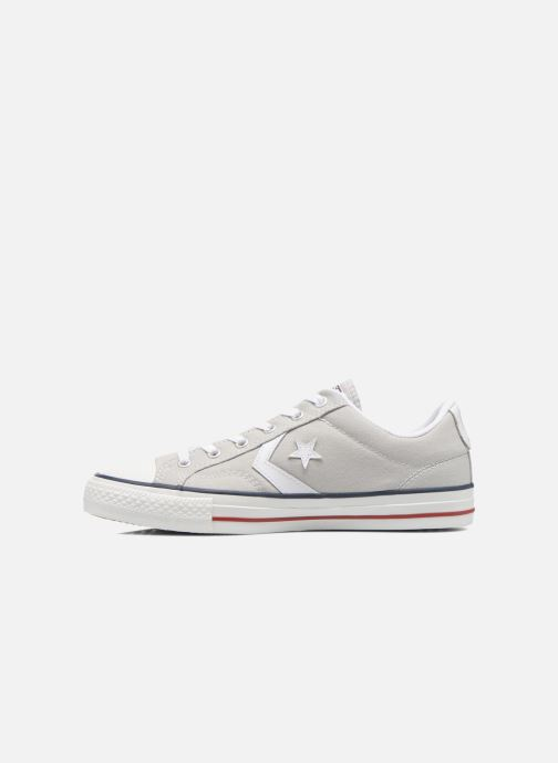 Trainers Converse Star Player Ev Canvas Ox M Grey front view