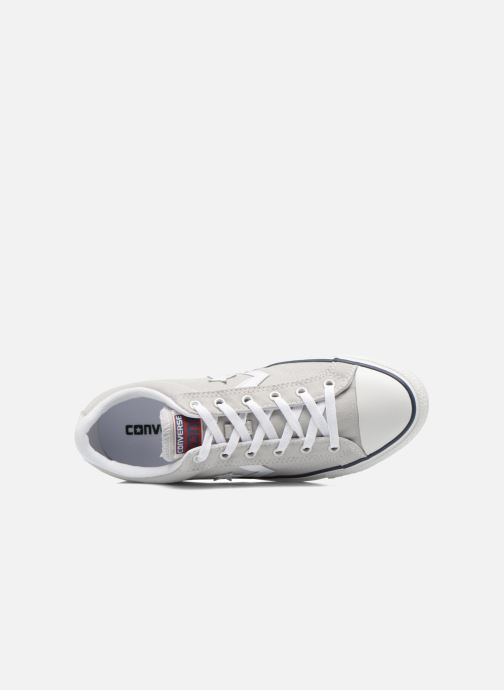 Trainers Converse Star Player Ev Canvas Ox M Grey view from the left