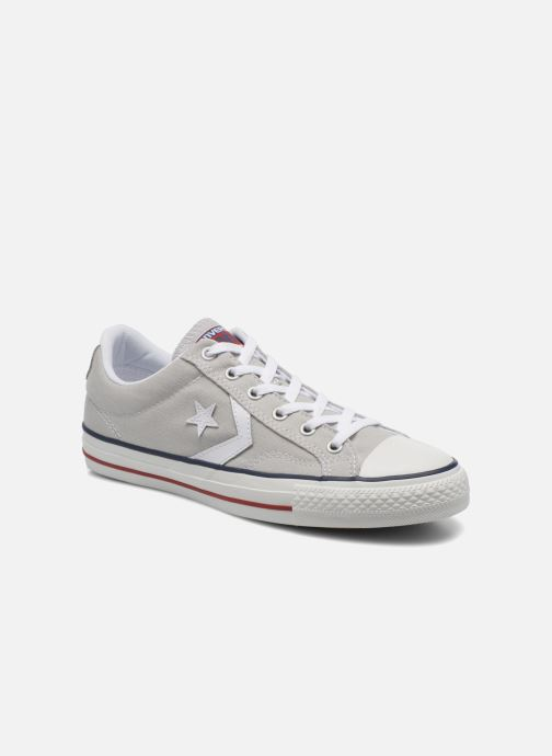 Baskets Converse Star Player Ev Canvas Ox M Gris vue détail/paire