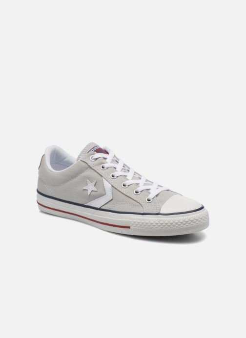 8ed8491c711ed9 Trainers Converse Star Player Ev Canvas Ox M Grey detailed view  Pair view
