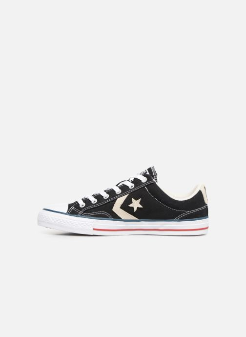 Deportivas Converse Star Player Ev Canvas Ox M Negro vista de frente