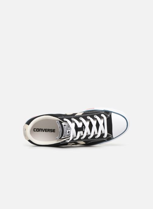 Trainers Converse Star Player Ev Canvas Ox M Black view from the left