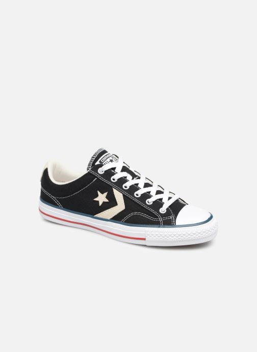 Baskets Converse Star Player Ev Canvas Ox M Noir vue détail/paire