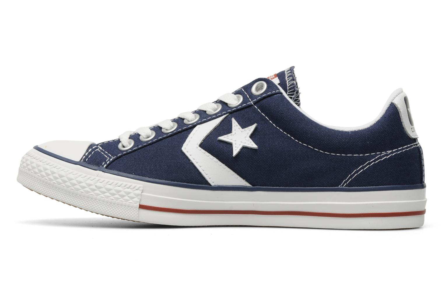 Sneakers Converse Star Player Ev Canvas Ox M Azzurro immagine frontale