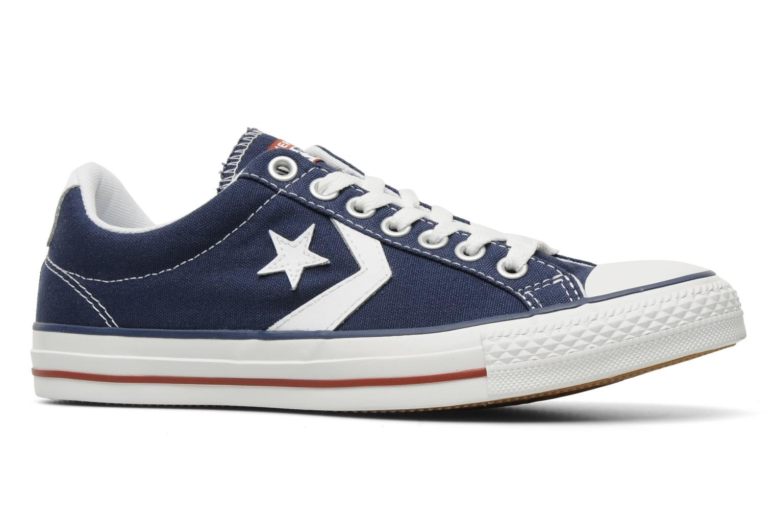 Sneakers Converse Star Player Ev Canvas Ox M Azzurro immagine posteriore