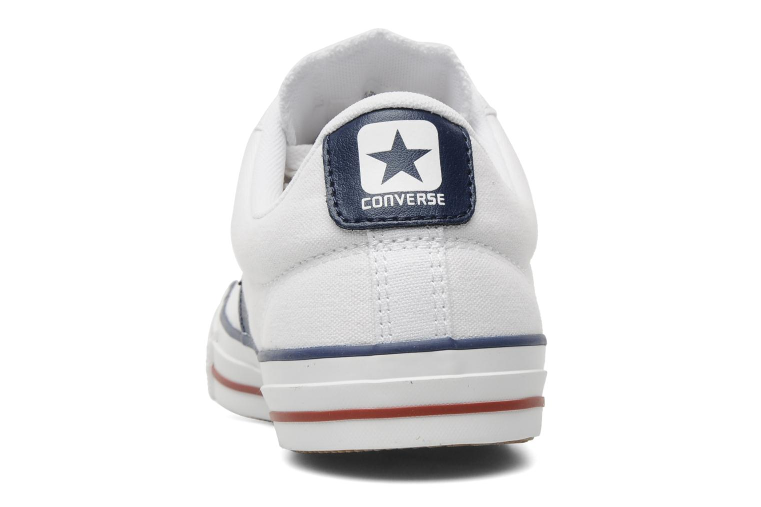 Sneakers Converse Star Player Ev Canvas Ox M Bianco immagine destra