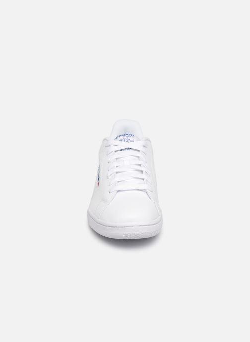 Baskets Reebok Npc II Blanc vue portées chaussures