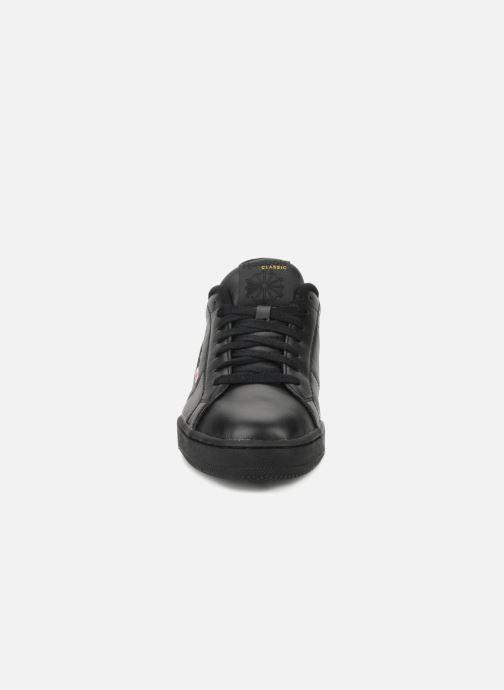 Sneaker Reebok Npc II schwarz schuhe getragen
