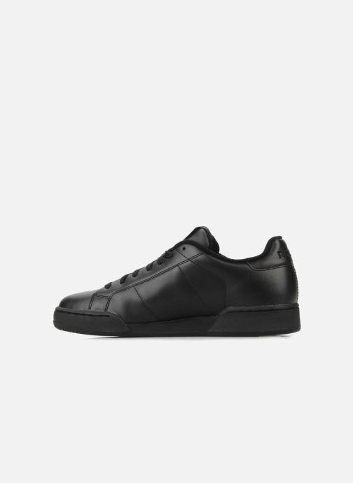 Sneaker Reebok Npc II schwarz ansicht von vorne