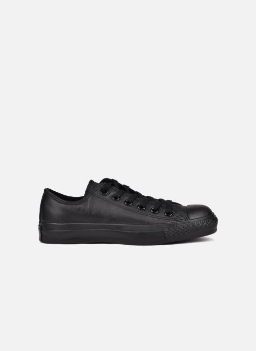 Sneakers Converse Chuck Taylor All Star Monochrome Leather Ox W Zwart achterkant
