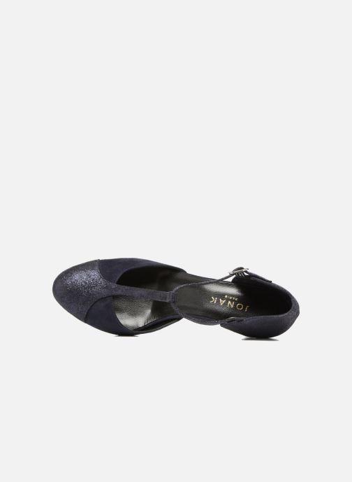 Zapatos de tacón Jonak Lina Azul vista lateral izquierda