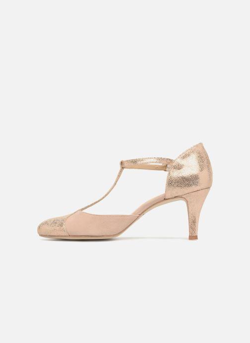High heels Jonak Lina Beige front view