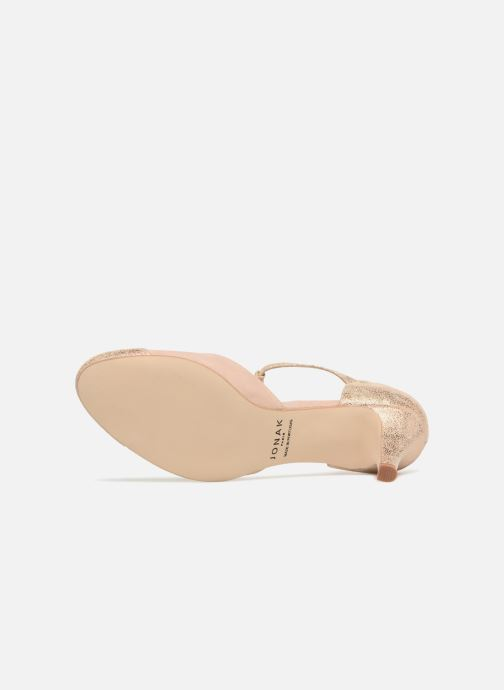 High heels Jonak Lina Beige view from above