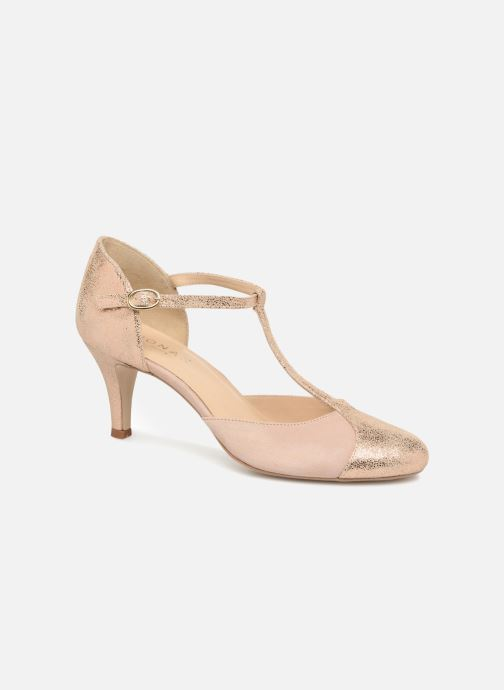 High heels Jonak Lina Beige detailed view/ Pair view