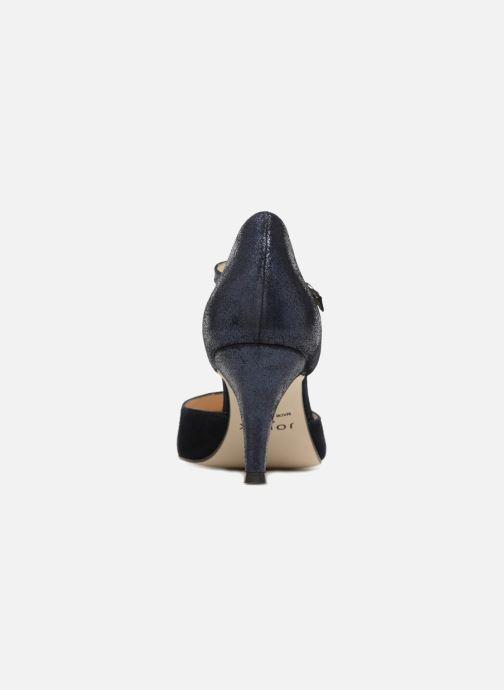Zapatos de tacón Jonak Lina Azul vista lateral derecha