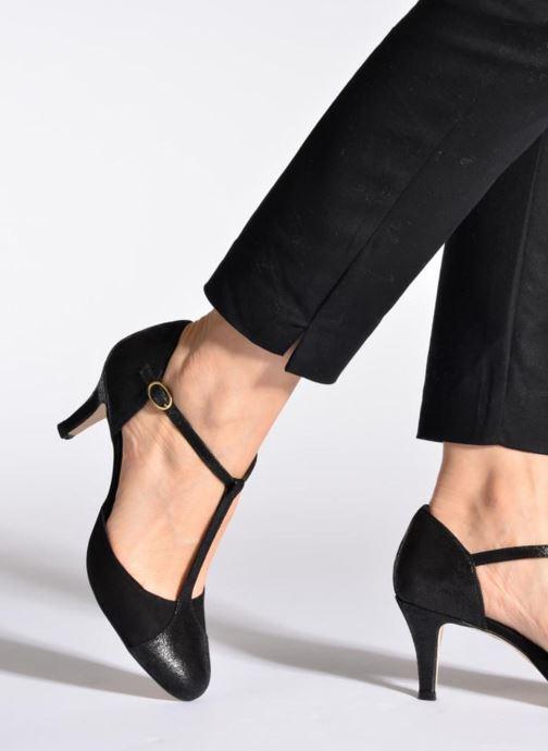 High heels Jonak Lina Beige view from underneath / model view