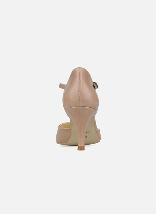 High heels Jonak Lina Beige view from the right