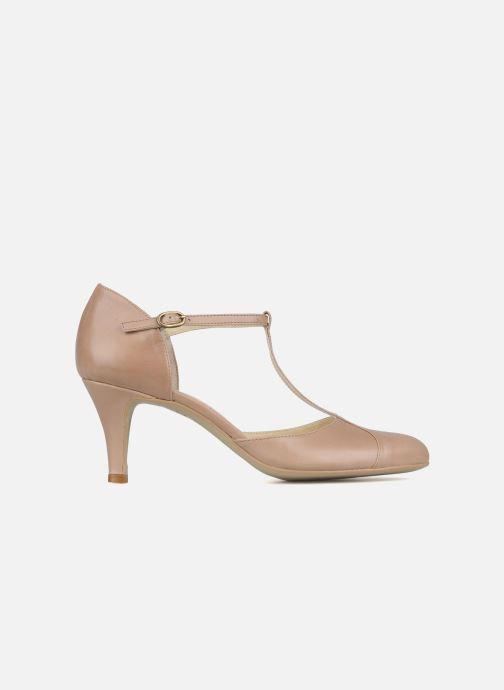 High heels Jonak Lina Beige back view