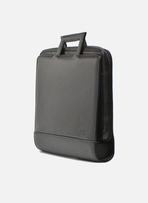 Business Lin & Gelli Elegy Notebook Negro vista del modelo