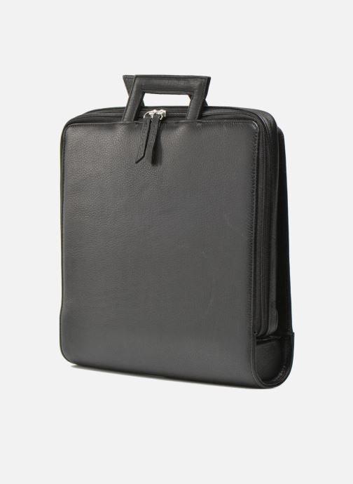 Business Lin & Gelli Elegy Notebook Noir vue droite