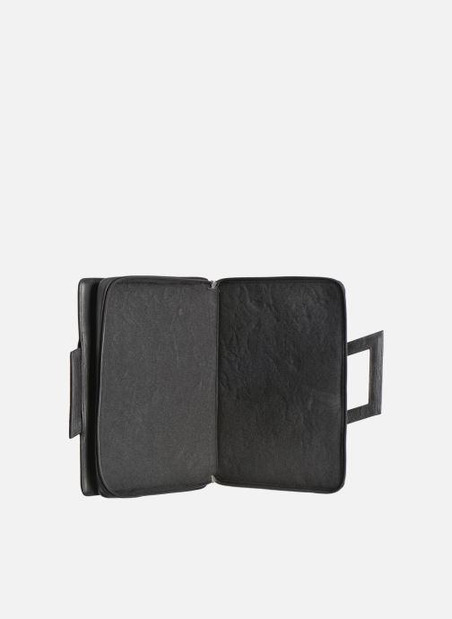 Business Lin & Gelli Elegy Notebook Negro vistra trasera