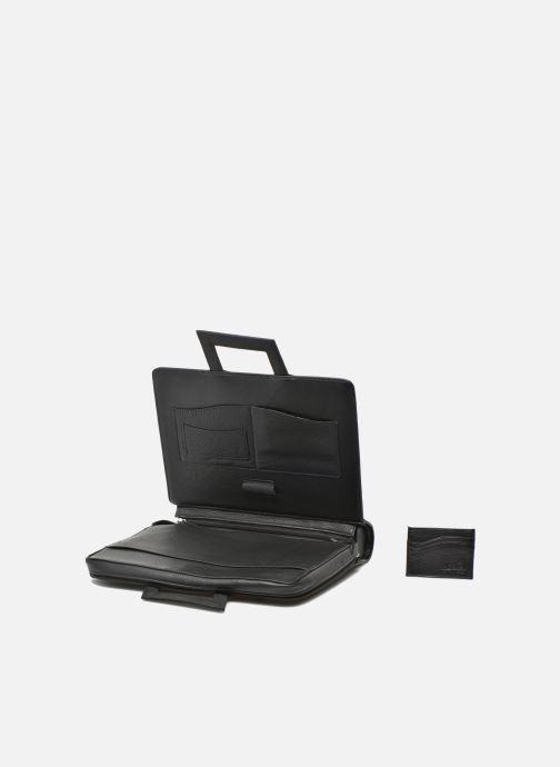 Business Lin & Gelli Elegy Notebook Negro vista lateral izquierda
