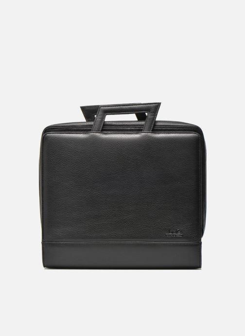 Business Lin & Gelli Elegy Notebook Negro vista de detalle / par