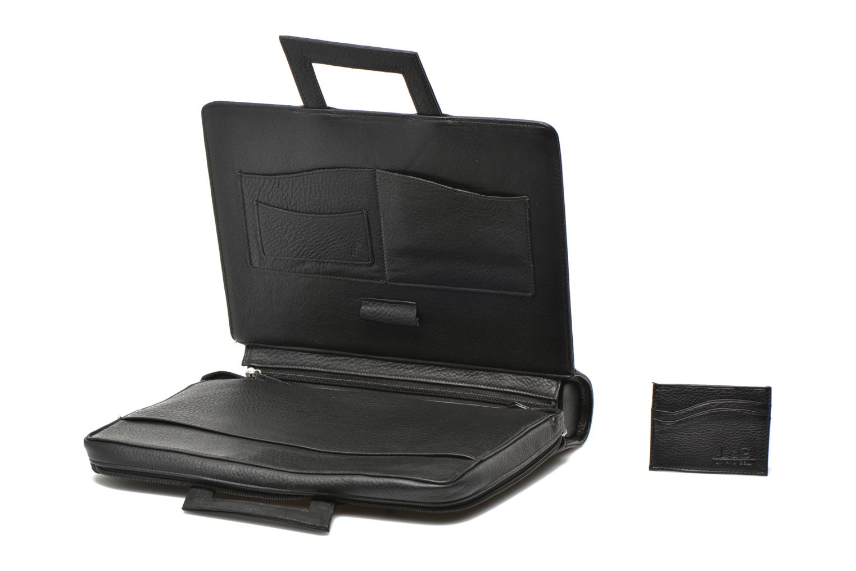 Business Lin & Gelli Elegy Notebook Noir vue gauche