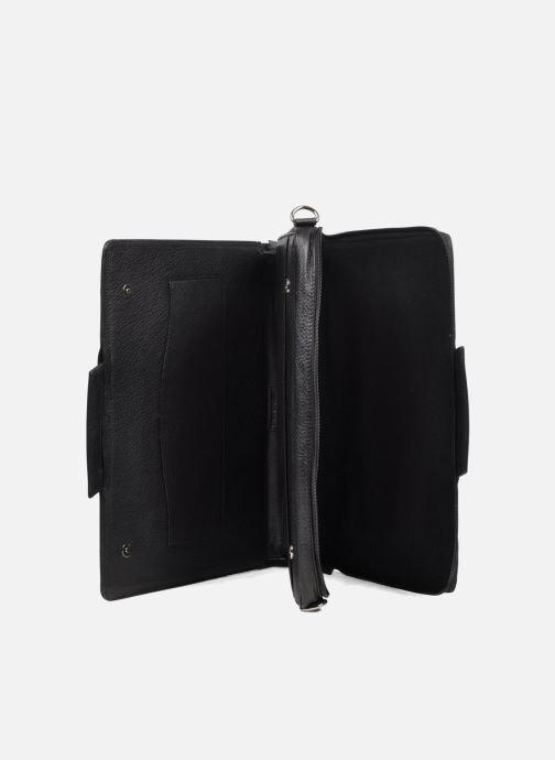 Business Lin & Gelli Elegy Laptop Zwart achterkant
