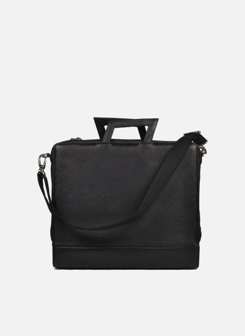 Business Lin & Gelli Elegy Laptop schwarz ansicht von links