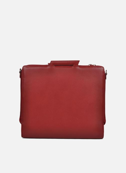 Business Lin & Gelli Elegy Laptop Red front view