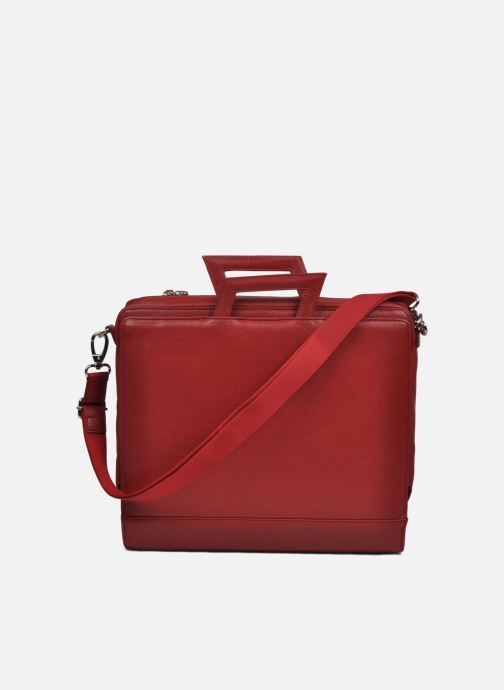 Business Lin & Gelli Elegy Laptop Red back view
